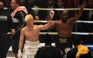 Mayweather mất hơn 2 phút để hạ gục tay đấm Nhật Bản