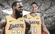 Màn kết hợp 'khủng khiếp' giữa Klay Thompson - LeBron James khó có thể xảy ra