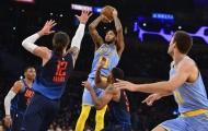 Lakers có trận đấu khó khăn ở thành phố Sấm Sét
