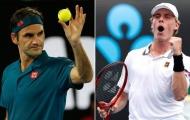 Sao trẻ Canada kinh ngạc trước sức mạnh của 'ông già' Federer