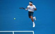 Federer 'xử đẹp' sao trẻ của Mỹ trong trận đấu thứ 100 tại Australian Open