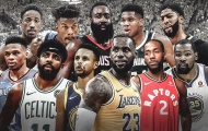 Không có gì thay đổi, LeBron James và Giannis Antetokounmpo vẫn dẫn đầu danh sách bình chọn NBA All-Star 2019