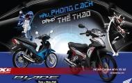 Honda Blade 110cc phiên bản mới, màu phong cách, dáng thể thao, giá từ 18,8 triệu đồng