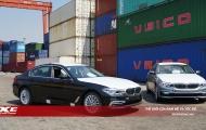 Những hình ảnh đầu tiên của lô xe BMW Series 5 thế hệ mới vừa cập cảng Việt Nam