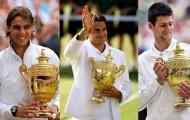 'Nadal, Djokovic đủ sức cân bằng kỷ lục của Federer'