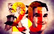 HLV Djokovic: 'Kỷ lục của Federer vẫn còn quá xa vời'