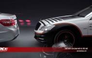 Mercedes ESF Concept: chiếc xe không thể gặp tai nạn – uncrashable car