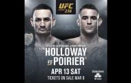 Võ sĩ UFC bất bình trước trận đấu Max Holloway vs. Dustin Poirier