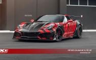 'Quỹ dữ' Chevrolet Corvette ZR1 đội lốt mãnh hổ hung hãn bội phần