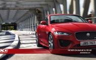 Jaguar XE mới càng 'ăn điểm' hơn nhờ nâng cấp từ trong ra ngoài