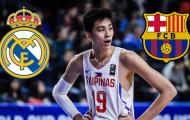 Real Madrid và Barcelona muốn có chữ ký của thần đồng bóng rổ Philippines