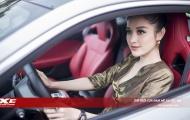 Á hậu Huyền My chính thức 'rước xế thể thao 6 tỷ Jaguar F-Type Coupé về nhà