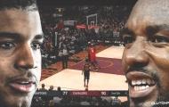 Hỗn chiến xảy ra, Ibaka xông vào bóp cổ và đấm cầu thủ Cavaliers
