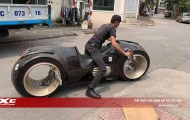 Mô tô 'khoa học viễn tưởng' Tron Light Cycle lăn bánh trên phố Việt