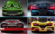 Tóm gọn 9 mẫu siêu xe đỉnh nhất, mới nhất 2019-2020