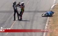 Hai tay đua Costa Rica bị cấm thi đấu 2 năm do quăng xe, biến biến trường đua thành võ đài