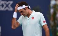 Federer thừa nhận bị 'não cá vàng' ở trận khai màn Miami Masters