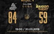 CLS Knights 'bật mode bắn 3', Saigon Heat nhận trận thua bất ngờ