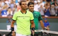 Hé lộ tin nhắn Nadal gửi Federer trước khi bỏ cuộc ở Indian Wells