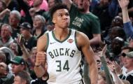 Chùm ảnh: Antetokounmpo giúp Bucks giành lợi thế lớn trước Pistons