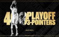 Dù thua trận, Curry vẫn chạm mốc lịch sử