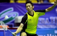Tay vợt Tiến Minh lần đầu vào tứ kết giải châu Á sau 8 năm