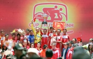 Giải đua xe đạp tranh Cúp Truyền hình: TP HCM hoàn tất cú ăn ba