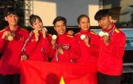 Đội tuyển Taekwondo Việt Nam giành thêm 7 HCV ngày cuối cùng giải Vô địch Đông Nam Á