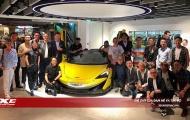 Cận cảnh siêu xe McLaren 600LT Spider 12 tỷ đồng ra mắt giới nhà giàu Hồng Kông