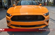 Mê mẩn 'ngựa hoang' Ford Mustang 2018 màu cam Fury độc nhất Việt Nam vừa về nước