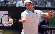 Roger Federer thắng dễ ngày ra quân ở Rome Masters