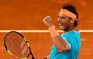 Tiếp tục hủy diệt đối thủ, Rafael Nadal đụng Verdasco ở tứ kết Rome Masters 2019