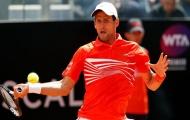 Djokovic ngược dòng kịch tính tại tứ kết Rome Masters
