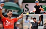 Ngày 9 Roland Garros: Zverev gặp Djokovic ở tứ kết, Halep sáng cửa bảo vệ ngôi hậu