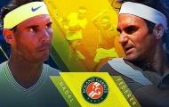 Cuộc chiến kinh điển giữa Federer và Nadal tại Pháp mở rộng