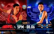 VBA Game 5: Thang Long Warriors vs Hanoi Buffaloes - Kịch chiến Tây Hồ