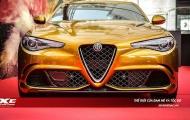 Alfa Romeo Giulia 'phô trương' trong màu áo Ochre chói lọi