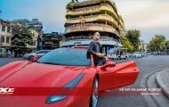 Ca sĩ Tuấn Hưng cho hồi sinh siêu xe Ferrari 488 GTB