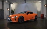 Lexus LC được bổ sung màu sơn cam Space Orange rực rỡ hơn