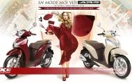 Phong cách, cá tính hơn với Honda SH Mode màu mới
