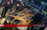 Sau tai nạn, 'Bò mộng' Lamborghini Huracan đứt đôi, người lái bình yên vô sự
