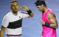 Nadal và Kyrgios khẩu chiến trước trận đấu tại vòng 2 Wimbledon