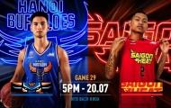 VBA 2019 Game 29: Hanoi Buffaloes vs Saigon Heat - Màn đọ tài căng thẳng