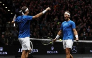 Federer và Nadal trở thành đồng đội tại Laver Cup 2019