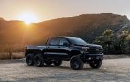 Sau Ford Raptor 6×6, Hennessey Performance tiếp tục dự án Silverado Goliath 6×6