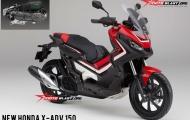Sử dụng chung động cơ với PCX, Honda chuẩn bị ra mắt X-ADV 150cc