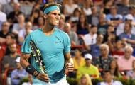 Nadal ngược dòng vào bán kết Rogers Cup
