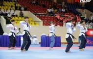 Nhà thi đấu Quân khu 7 rực lửa với lễ khai mạc Giải Vô địch Taekwondo châu Á mở rộng