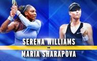 Sharapova đấu Serena tại vòng một US Open 2019