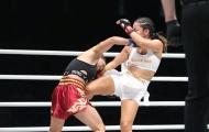 Đòn chỏ giúp nữ võ sĩ gốc Việt hạ đối thủ Ấn Độ